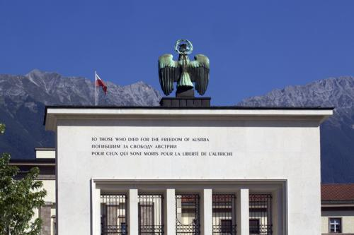 Die Intervention am Befreiungsdenkmal 2016