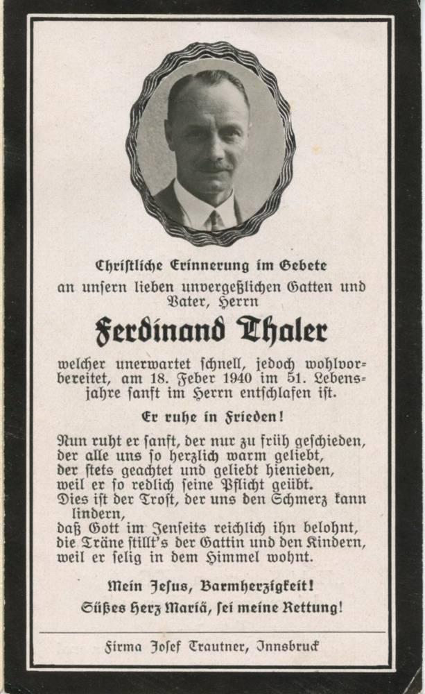 Ferdinand Thaler